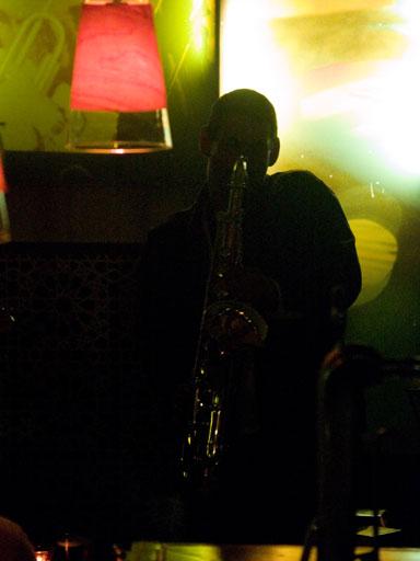 El saxofonista atardecer - Eduardo Martos