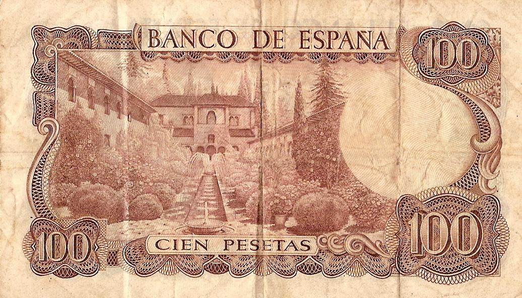 100 pesetas - Roberto