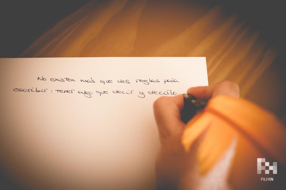 Escribir - FILHIN