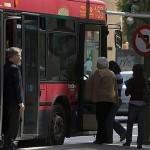 Las puertas del autobús